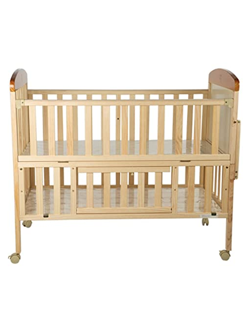 Buy Mee Mee Baby Wooden Cot (with Cradle 4e8987e40