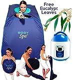 Personal Steam Sauna SPA Portable Therapeutic Weight Loss Full Body 11083xl