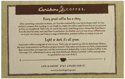 Caribou Coffee Caribou Blend, Keurig K-Cups, 72 Count