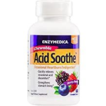 Enzymedica - Acid Soothe Chewable 60 Tablets