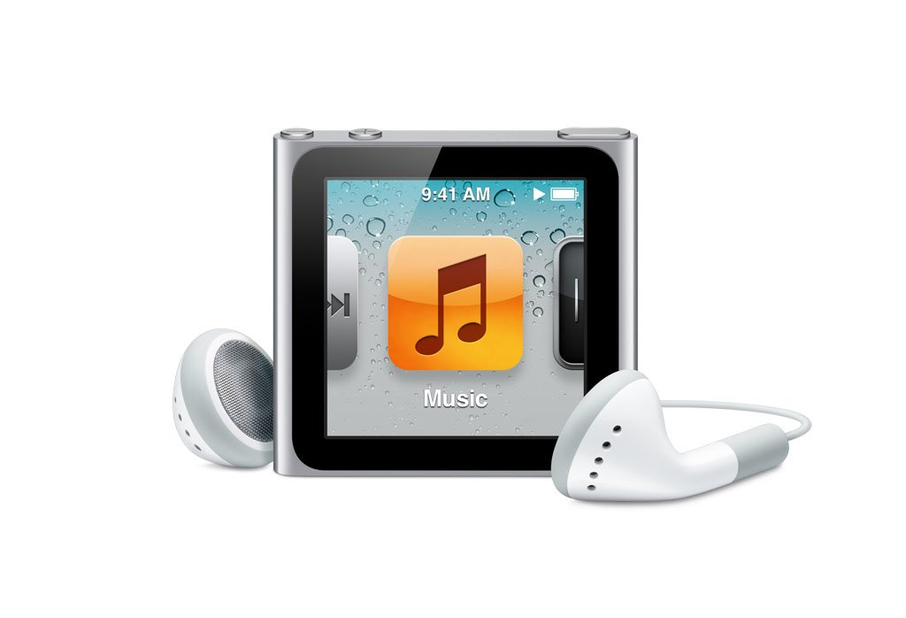 Amazon.com: Apple iPod nano 8 GB Silver (6th Generation) (Discontinued by  Manufacturer): Home Audio & Theater