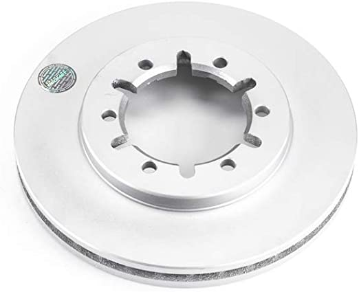 Disc Brake Rotor-Front Genuine Geomet Coated Rotor Front Power Stop JBR935EVC
