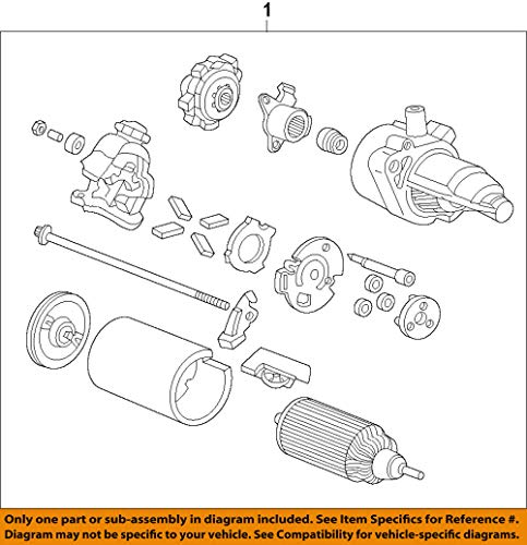 Genuine Honda 31200-RX0-A01 Starter Motor Assembly