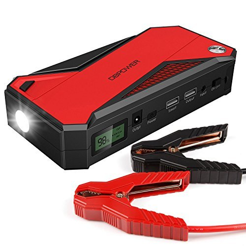 Portable Car Battery Jump Starter - 5