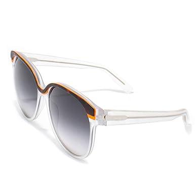 italia independent 0049-093-000 Gafas de sol, Blanco, 55 ...
