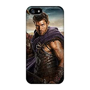 Excellent Hard Phone Cases For Iphone 5/5s (QKy10083BBTY) Custom Attractive Spartacus Skin hjbrhga1544