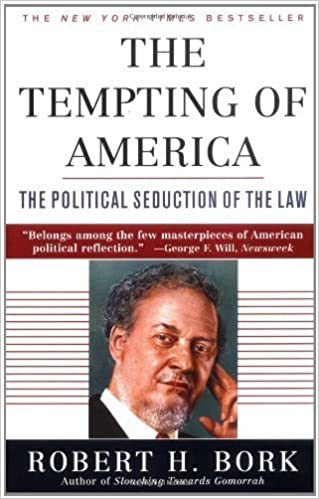 Book The Tempting of America by Robert H. Bork (1997-01-01)
