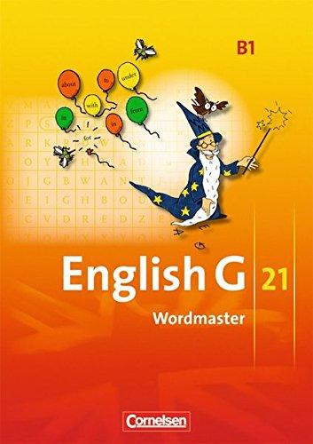 English G 21 - Ausgabe B: Band 1: 5. Schuljahr - Wordmaster: Vokabellernbuch