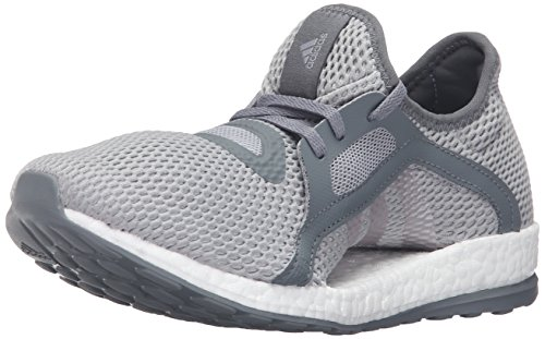 Adidas Originals Womens Pureboost X W Running Shoe  Vista Grey S15 Metallic Silver Mid Grey S14  11 M Us