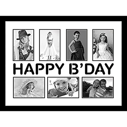 Buy Elegant Arts & Frames Happy Birthday Collage Frame Online at Low ...