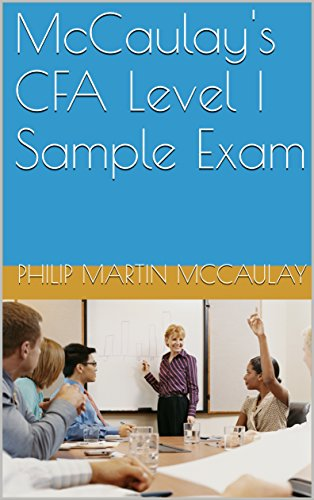 McCaulay's CFA Level I Sample Exam