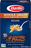 Barilla Whole Grain Pasta, Penne, 16 Ounce (Pack of 8)