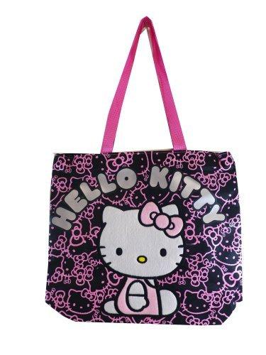 Hello Kitty Tote Bag Black 81414