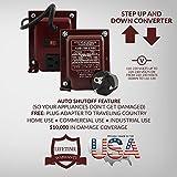 ACUPWR AUD-750(& Vice-Versa) Step Down/Step Up Voltage Transformer/Converter, 110-120V to 220-240V, 750W