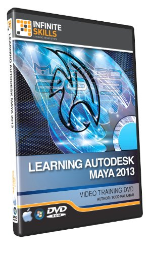 Learning Maya 2013 Training DVD - Tutorial Video by Infiniteskills