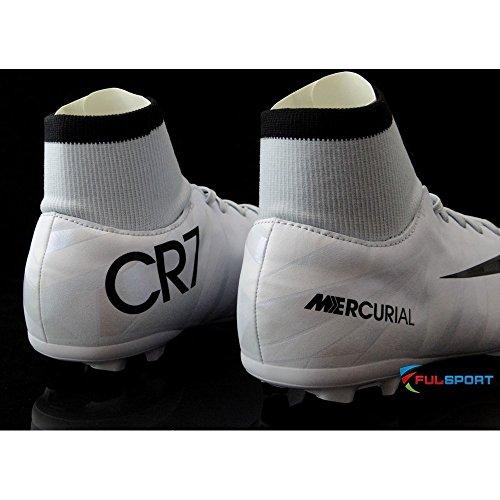 Nike Mercurial Victory VI CR7 DF FG JR - 903592401 - Farbe: Weiß - Größe: 33.5