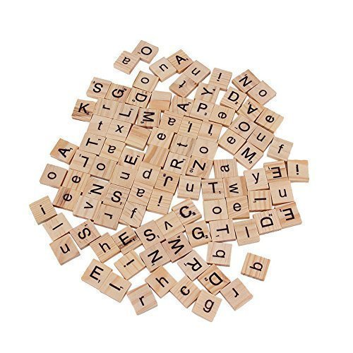 Yosoo Alphabet Scrabble Pendants Spelling