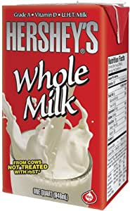Hershey's Whole White Milk,  32-Ounce Asceptic Carton (Pack of 12)