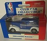 Orlando Magic 1995 Matchbox Diecast '39 Chevy Sedan NBA 1:63 Scale White Rose Collectible Car Australia Release
