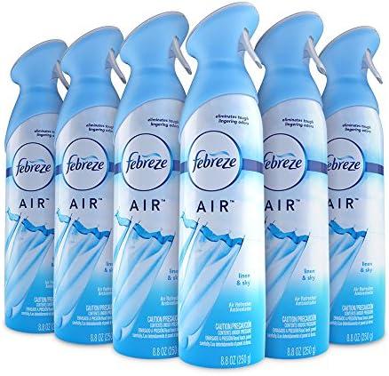 [해외]페브리즈 에어 이펙트 에어 프레셔너 린넨 & 스카이 8.8 온스 (6팩) / Febreze AIR Effects Air Freshener Linen & Sky, 8.8 oz (Pack of 6)