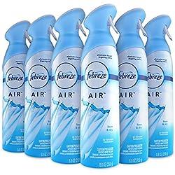 Febreze AIR Freshener, Linen & Sky, 8.8oz (Pack of 6)