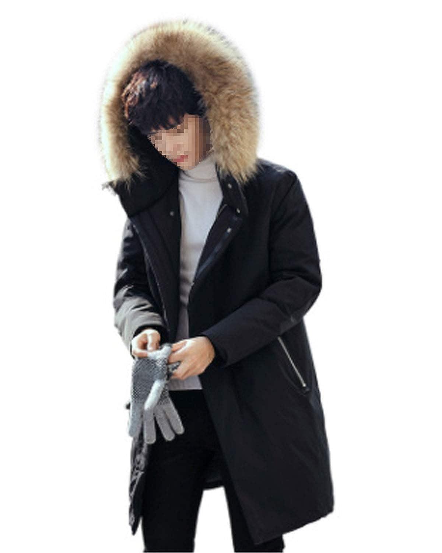 SHETAO Womens Winter Warm Down Coat Faux Fur Hooded Parka Puffer Overcoat
