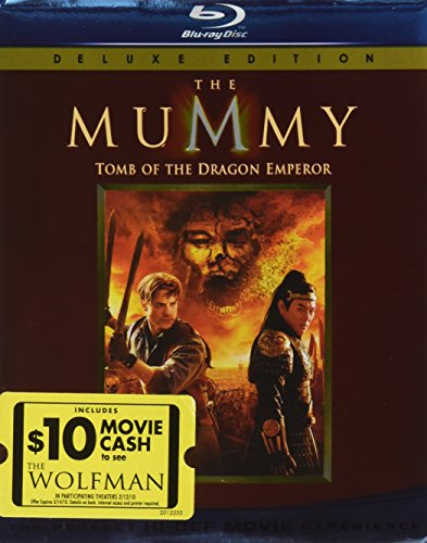 Universal Mc-mymmy Tomb Of The Dragon Emperor [blu Ray W/movie Cash For Wolfman]