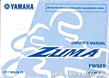 LIT-11626-22-72 2009 Yamaha YW50 Zuma 50 Scooter Owners Manual