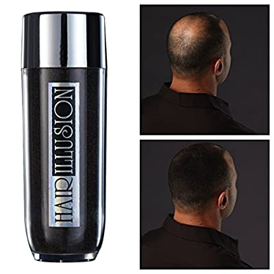 Hair Illusion Hair Fibers Not Synthetic Spray