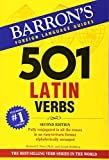 img - for 501 Latin Verbs (501 Verb Series) book / textbook / text book