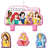 Disney Princess Candle, 4 Pieces