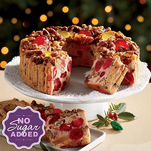 No-Sugar-Added Fruitcake from The Swiss Colony