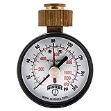 Winters PETM213LF PETM-LF Series Pressure Gauge, 2.5' Dial size, 0/160 psi/kpa, ±3-2-3% accuracy