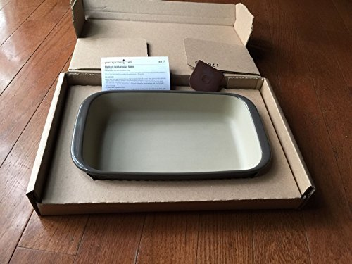 Pampered Chef Large Rectangular Baker Graystone by Pampered Chef