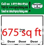 3-Car Garage Floor Epoxy Paint System and Coatings Kit