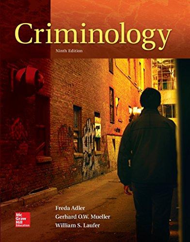 007814096X - LooseLeaf for Criminology