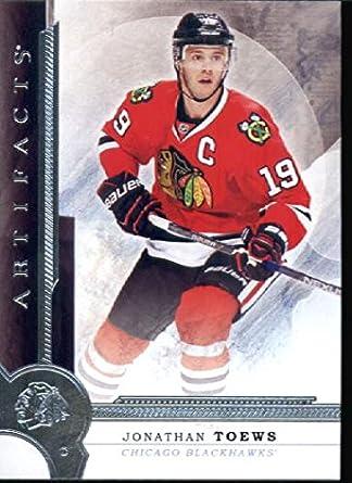 Amazon.com  2016-17 Upper Deck Artifacts  5 Jonathan Toews Chicago  Blackhawks Hockey Card  Collectibles   Fine Art 1ae3feb5c