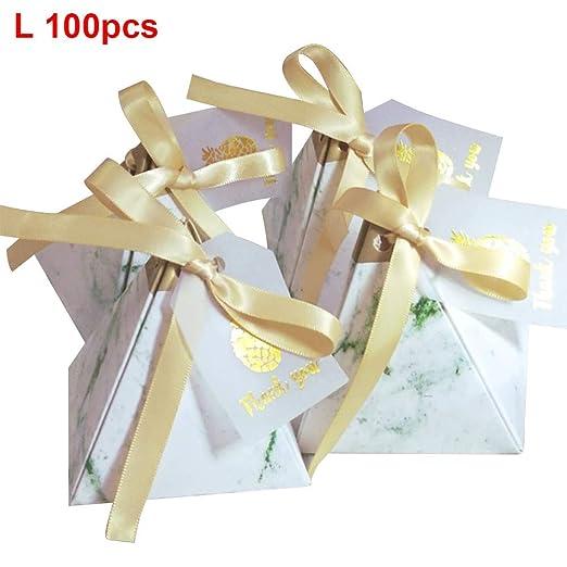 czos88 Caja de Caramelos 100Pcs Chocolate Paquete Bricolaje ...