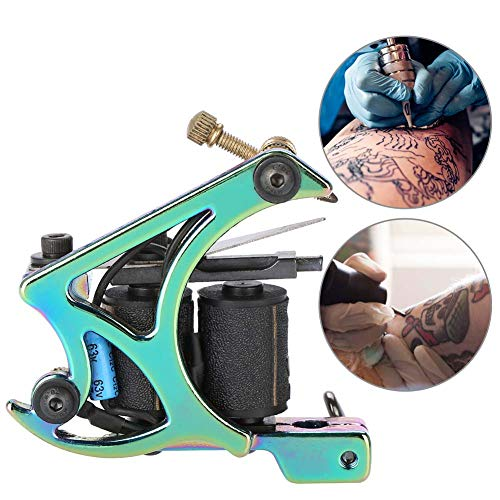 Rotary Tattoo Machine, Liner Shader Rotary Tattoo Machine Powerful Artist Gun Cable Artist Makeup Tool