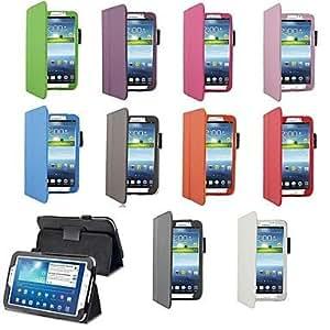 GX Tableta Samsung - Carcasas de Cuerpo Completo/Contra Golpes/Fundas con Soporte - Color Sólido/Nombre de Estilo Marca - para SamsungTab 3 8,0 , Pink