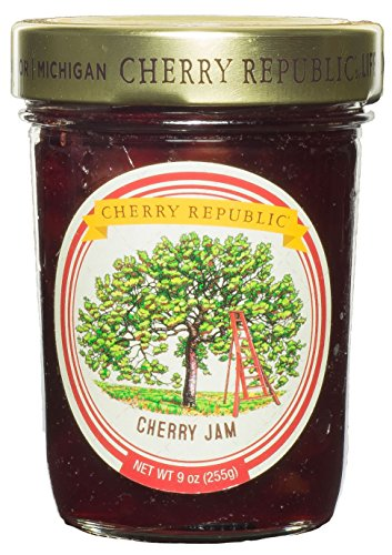 Cherry Republic Cherry Jam 9 Ounce (Cherry) (Cherry Fresh Jam)