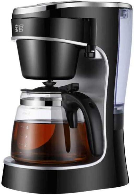 Cafetera totalmente automática, pequeña, filtro de goteo, cafetera, tetera, hogar, dormitorio de estudiantes, 0.78L: Amazon.es: Hogar