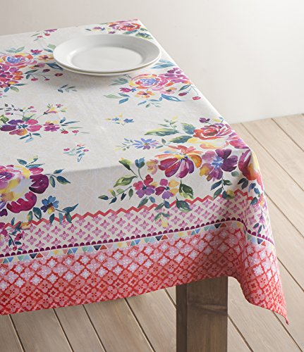 Maison D' Hermine Rose Garden 100% Cotton Tablecloth 54