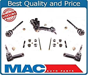 Steering Kit Idler Arm Stabilizer Sway Bar Links Inner and Outer Tie Rod Ends For 2011-2014 Chevy GMC Silverado 2500 3500 2500HD 3500HD