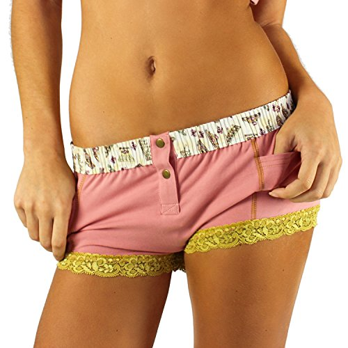 Cherry French Wine - French Rose Boxers Briefs | Royal Crown Print Band