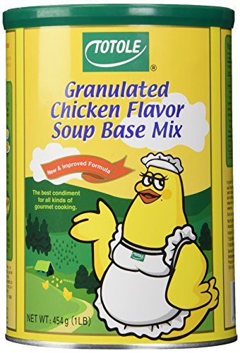 Base Chicken Ingredients - Totole - Granulated Chicken Flavor Soup Base Mix