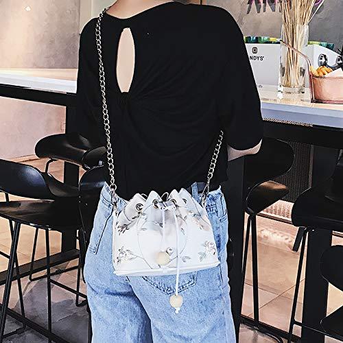 marée Sac Seau de de l'épaule Mini Version fée WSLMHH Sac Femme de Dentelle Mode Sac Sauvage Rose chaîne coréenne Messenger zqw1ttZx