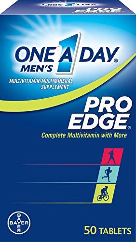 Edge Pro Multivitaminico, tabletas 50 botella de uno-A-Day Men