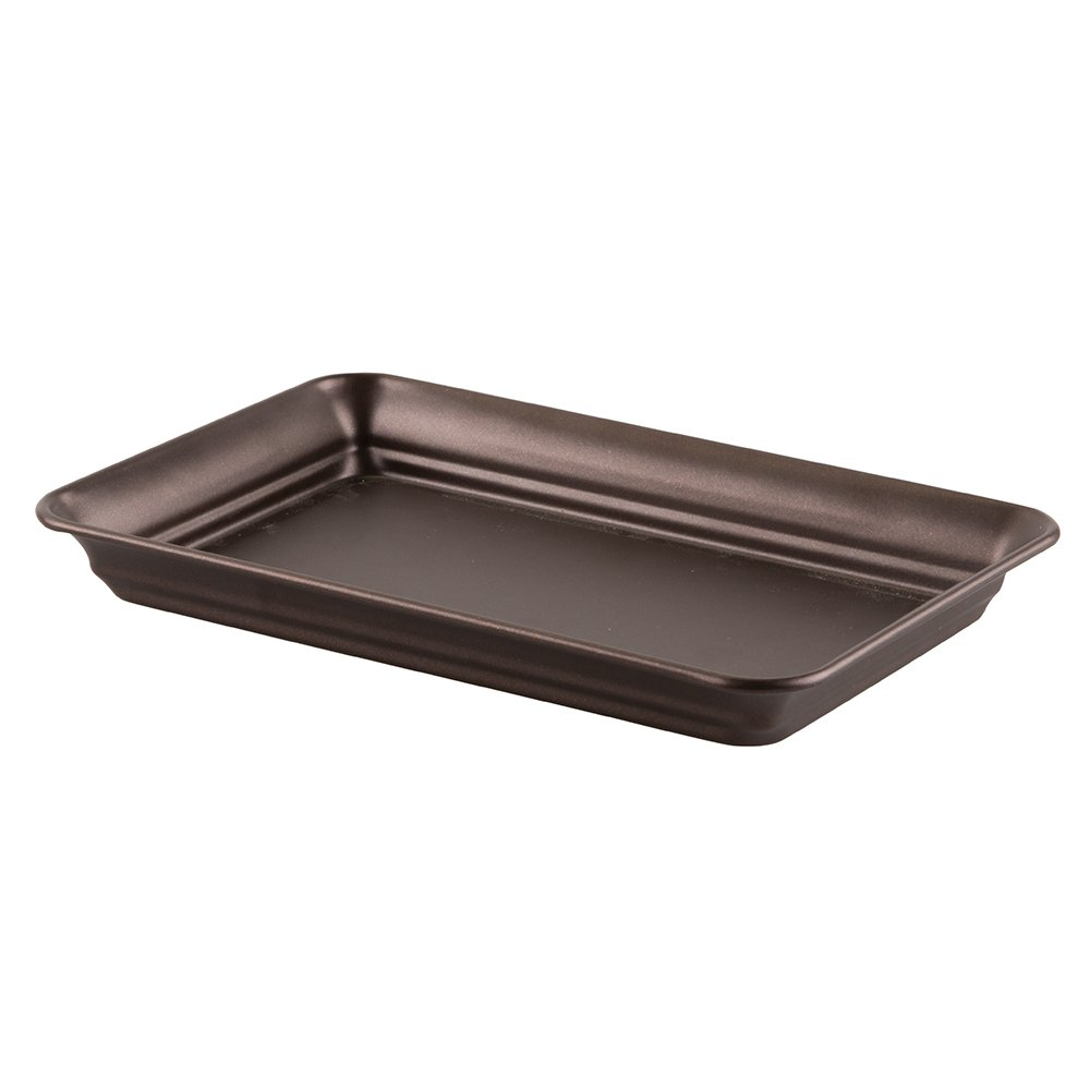 InterDesign 02871 Countertop Guest Towel Tray - Bathroom Vanity Organizer, Bronze