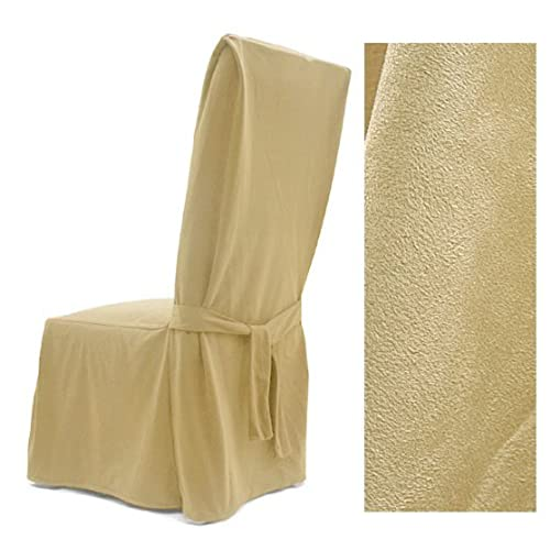Exceptionnel Ultra Suede Cream Dining Chair Cover 639